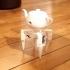 Eyepot, a creepy robotic teapot image