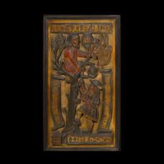 Panel illustrating the story of Methuselah (?)