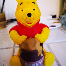 Picture of print of Winnie the Pooh Esta impresión fue cargada por James