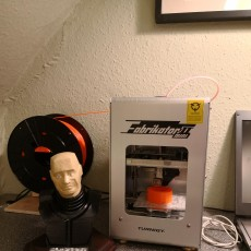 Picture of print of Red Dwarf - Kryten Bust