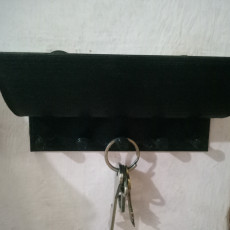 Picture of print of Key hanger