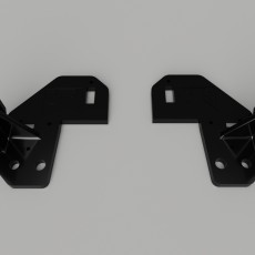 Bowden motor mount for Anet A8 (above frame both sides)