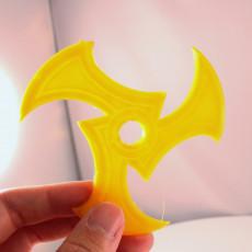 Picture of print of shuriken