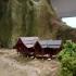 miniature Malaysia traditional house image