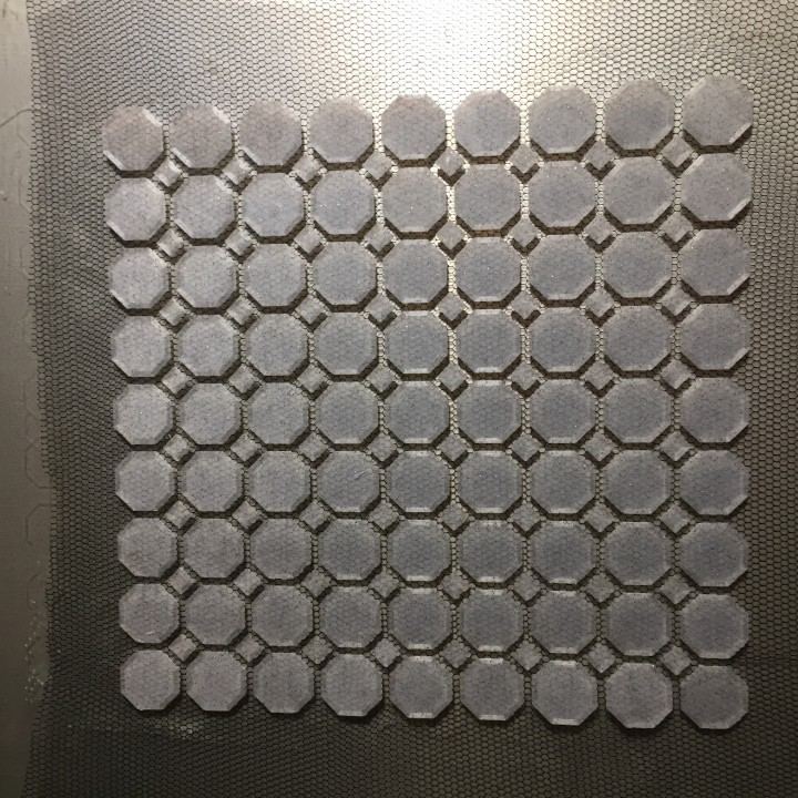 Octagon (on Fabric)
