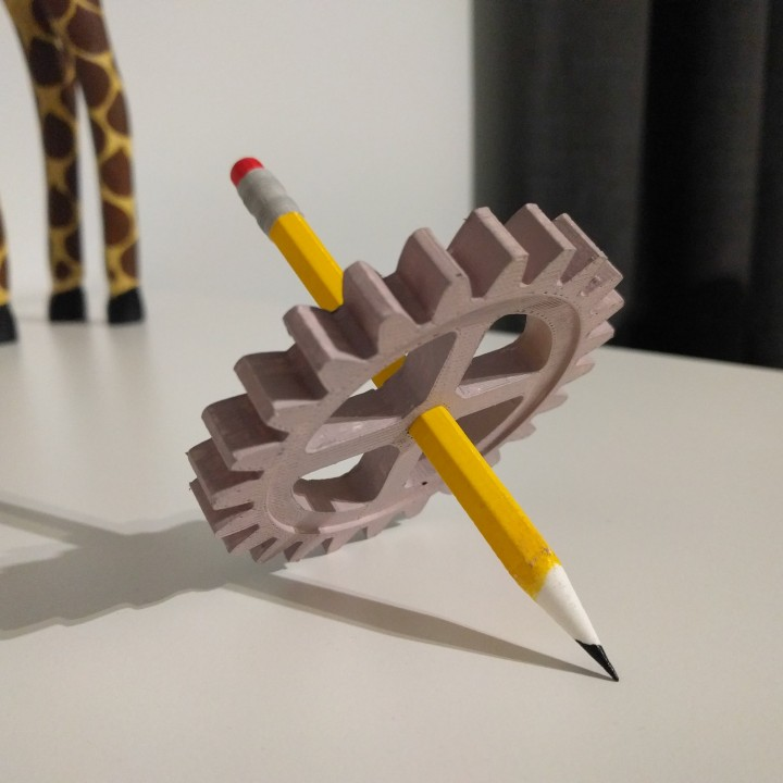 Pencil and Gear