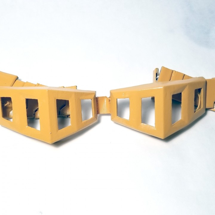 3d printable my hero academia eraserhead goggles by brenda cruz