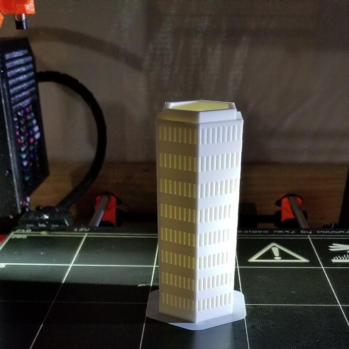 6mm-Scale Modular Hex Building Set #1