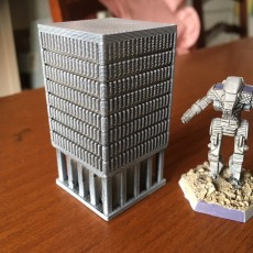 Picture of print of 6mm-Scale Office Building