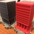 6mm-Scale Office Building print image