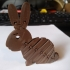 Flexi Easter Bunny with strong links  in surprise Egg. Screw-off Piggy bank Bunny Head #TinkercadEaster image