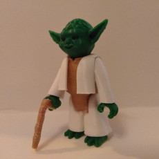 Picture of print of Yoda