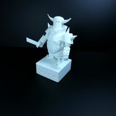 Picture of print of Statue of P.E.K.K.A.