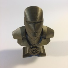 Iron Man bust with Arc Reactor