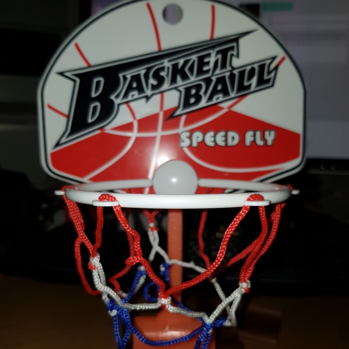 Basket Ball Speed Fly - Mount (Woolworth)