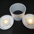Lithophane IKEA tea light shades image