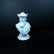 Picture of print of Vasco da Gama - Busto