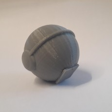 Picture of print of Poke ball and thor's hammer