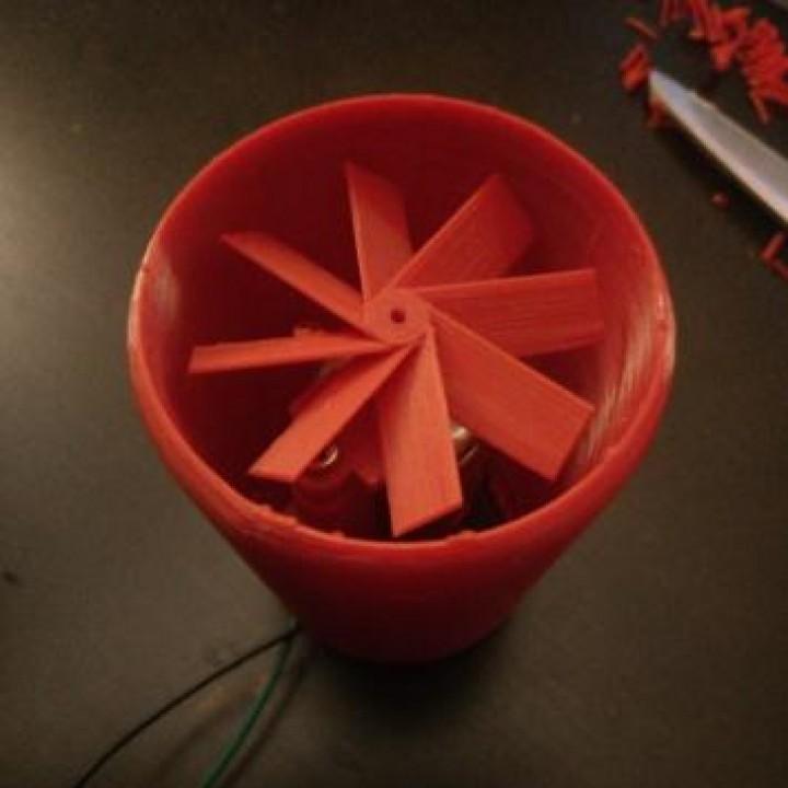 Turbo Fan (for 5v DC Motor)