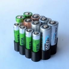AA & AAA Battery Organizer.