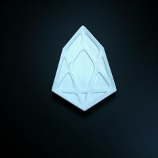 "Picture of print of EOS ""shield"""