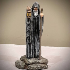 Picture of print of The Hermit