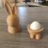 Easter Bunny Babushka print image