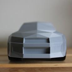 Low-poly Nissan R34 GTR