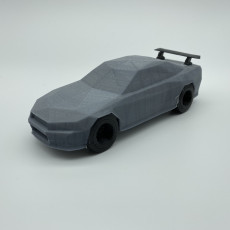 Picture of print of Low-poly Nissan R34 GTR