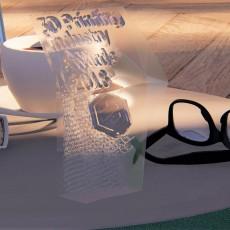 MASACOTE OFFICIAL TROPHY 3D DESIGN COMETITION #3DPIAwards