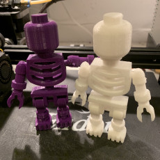 Picture of print of Giant LEGO Skeleton