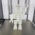 Giant LEGO Skeleton print image
