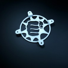 Picture of print of Customizable 120mm Fan Grill Punch