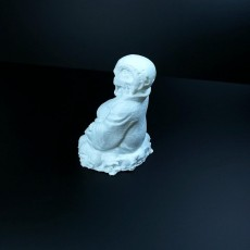 Picture of print of Terminator Buddha