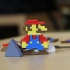 Multi-Color Mario Keychain image