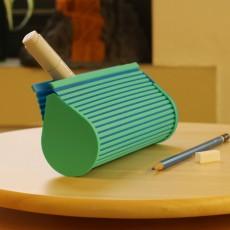 Multi-Color Zip Top Pencil Case