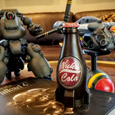 Picture of print of Fallout 4 Nuka cola bottle
