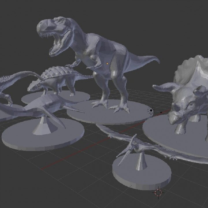 Dinosaurs for your tabletop game