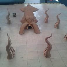 The Kraken!  Body ready for print