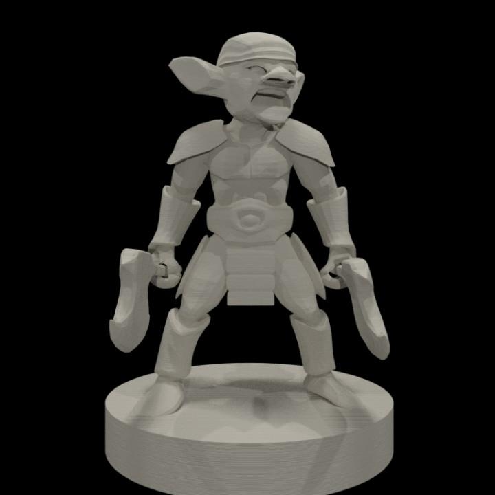 3D Printable Goblins! by Miguel Zavala