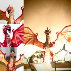 Picture of print of Red Dragon