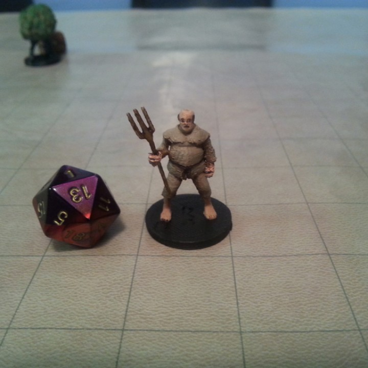 3D Printable Commoner Collection! by Miguel Zavala