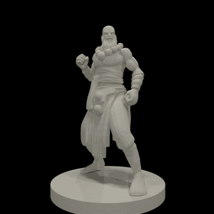 3d Printable Monk Collection By Miguel Zavala So i just got volo's (it was only just released in germany) and i read through the races and feline agility combined with the monks speed bonus can be insane. 3d printable monk collection by miguel