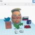Trump Egg #TinkercadEaster image