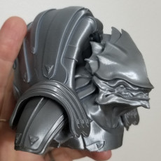 Picture of print of Krogan Bust - Mass Effect