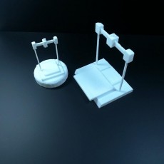 Picture of print of 3D printer trophy