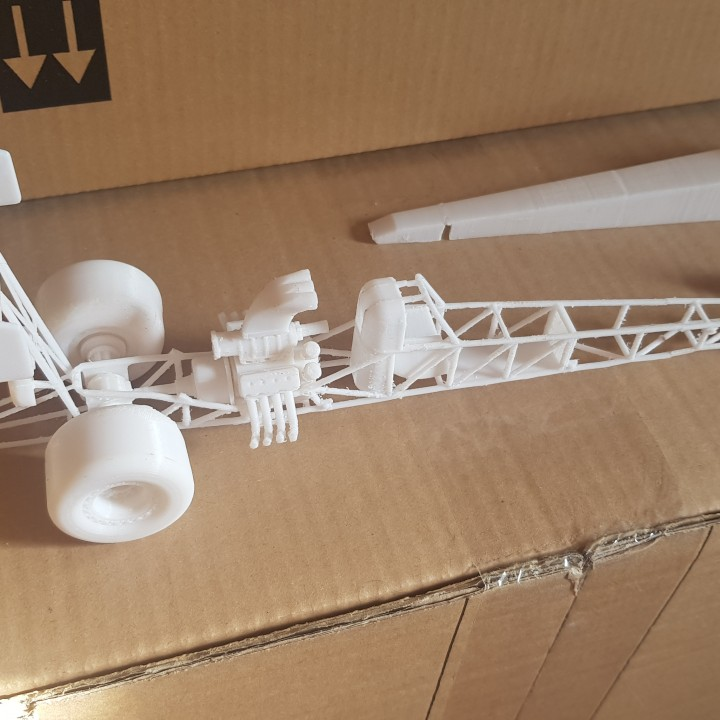 3d Printable Top Fuel Dragster By Kevin Groissi