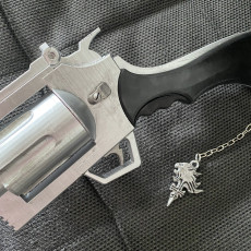 Picture of print of Squall Gunblade - Final Fantasy XIII