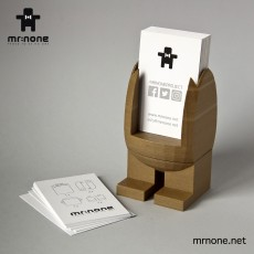 MR.NONE - BUSINESS CARD HOLDER