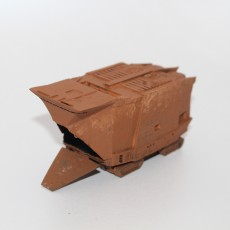 Jawa's Sandcrawler (articulated tracks and Cargo door)